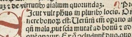 Page from De Mirabilus Mundi