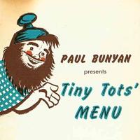 Tiny Tots' Menu